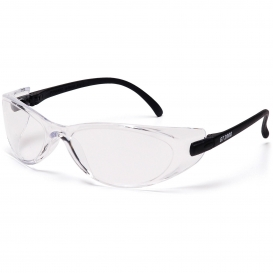 Pyramex GT2000 Safety Glasses - Black Temples - Clear Lens