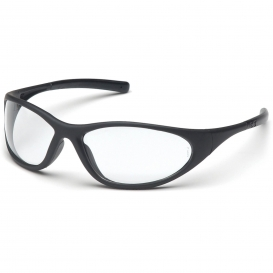 Pyramex SB3310E Zone II Safety Glasses - Matte Black Frame - Clear Lens