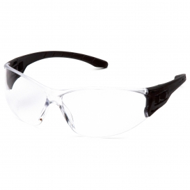 Pyramex SB9510S Trulock Safety Glasses - Black Temples - Clear Lens