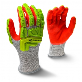Radians RWG603 Cut Level A5 Work Gloves - Hi-Viz TPR Impact Protection