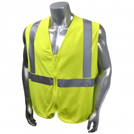 Radians SV92EJ-2ZGS Jersey Modacrylic FR Type R Class 2 Safety Vest - Yellow/Lime