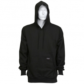 MCR Safety SS2BK Max Comfort Hooded Pullover FR Sweatshirt