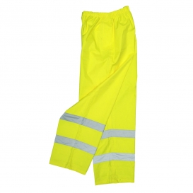 Radians RW10-ES1Y Lightweight Rain Pants - Yellow/Lime