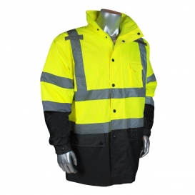 Radians RW30-3Z1Y General Purpose Rain Jacket - Yellow/Black