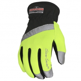 Radians RWG100 Radwear Silver Series All Purpose Synthetic Hi-Viz Utility Gloves