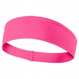 Sport-Tek STA35 PosiCharge Competitor Headband - Neon Pink