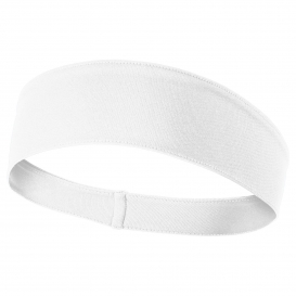 Sport-Tek STA35 PosiCharge Competitor Headband - White