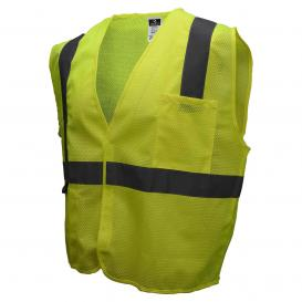 Radians SV2GM Economy Type R Class 2 Mesh Safety Vest - Yellow/Lime