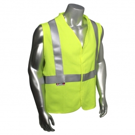 Radians SV92-2VGSFR Basic Modacrylic FR Type R Class 2 Safety Vest - Yellow/Lime