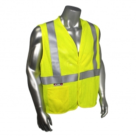 Radians SV97-2VGMFR Premium Mesh Modacrylic FR Type R Class 2 Safety Vest - Yellow/Lime