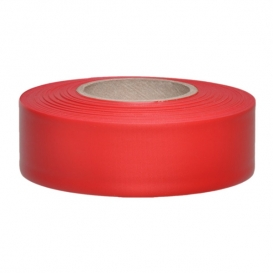 Presco TF1R Taffeta Roll Flagging Tape - Red