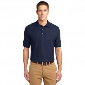 Port Authority TLK500 Tall Silk Touch Polo - Navy