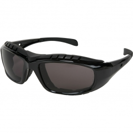 U.S. Safety HDX112AF Hornet DX Safety Glasses/Goggles - Black Foam Lined Frame - Gray Anti-Fog Lens
