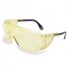 Uvex Ultra-Spec 2000 Safety Glasses - Amber Frame with Spatula Temples - Amber Lens