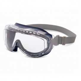 Uvex Flex Seal Goggles - Navy Frame - Clear Uvextreme Lens - Neoprene Band
