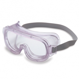 Uvex Classic Goggles - Clear with Closed Vent