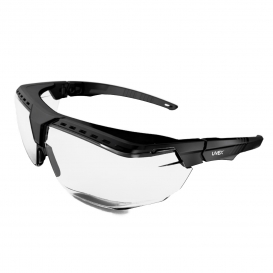 Uvex S3850 Avatar OTG Safety Glasses - Black Frame - Clear Lens