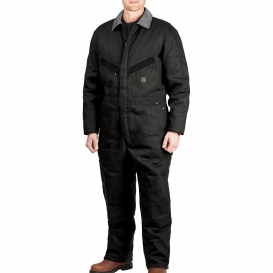 Walls YV318 Zero-Zone Duck Insulated Coveralls - Midnight Black