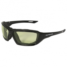 Radians Extremis Safety Glasses - Smoke Foam Lined Frame - Green Low IR Anti-Fog Lens