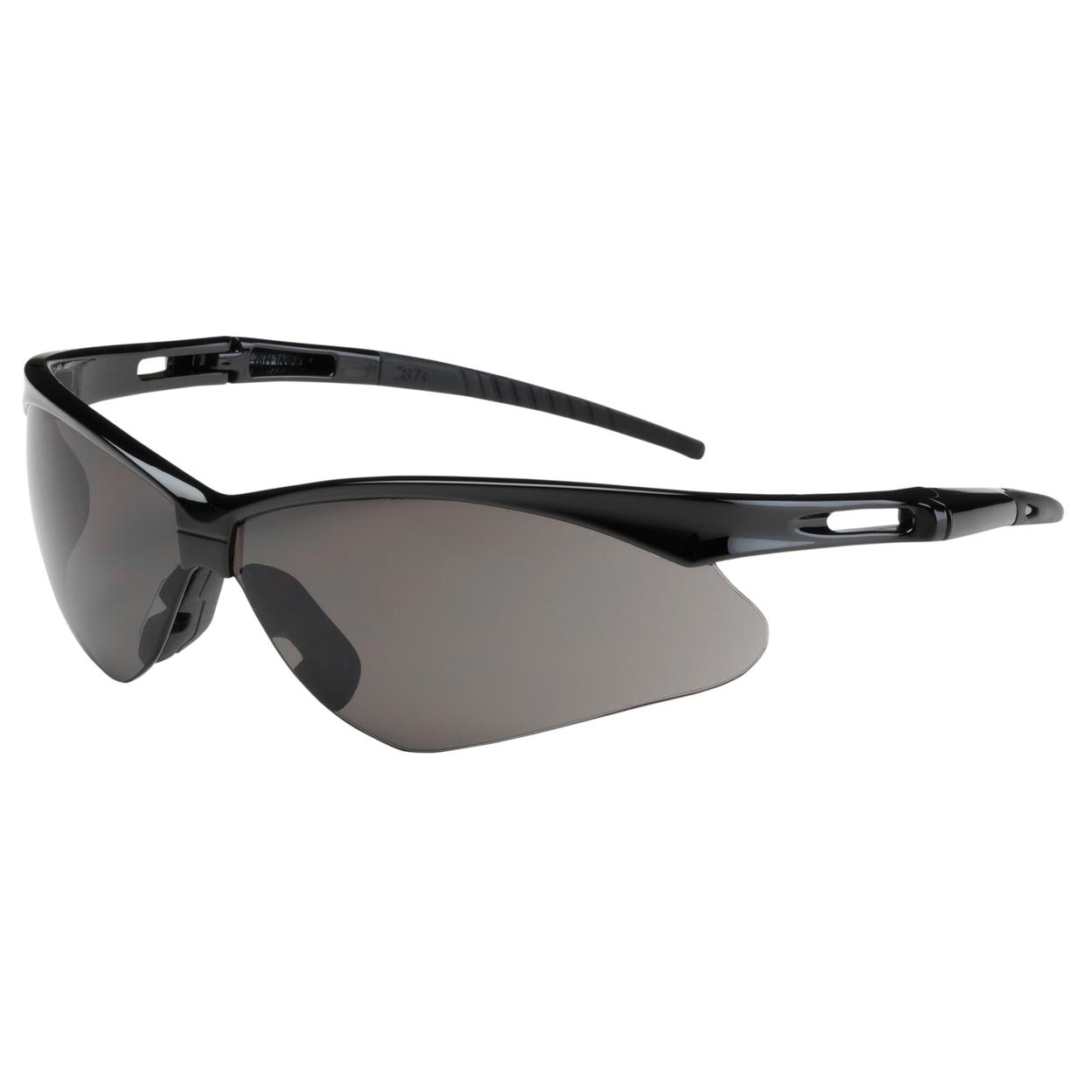 188e631be1 Bouton 250-AN-10112 Anser Safety Glasses - Black Frame - Gray Lens ...