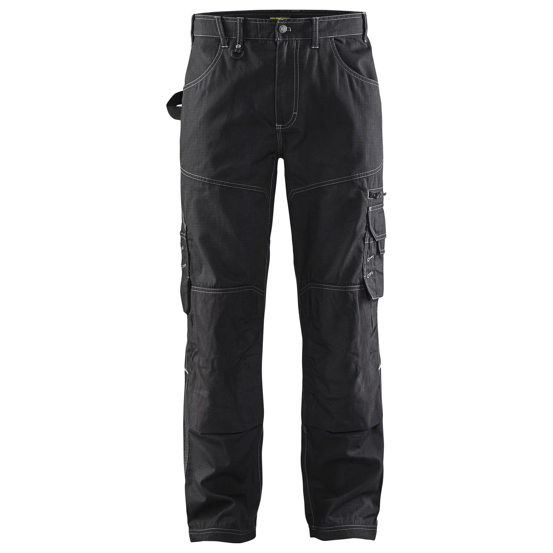 cd2baf00ab7 Blaklader 1690 Rip Stop Work Pants - Black