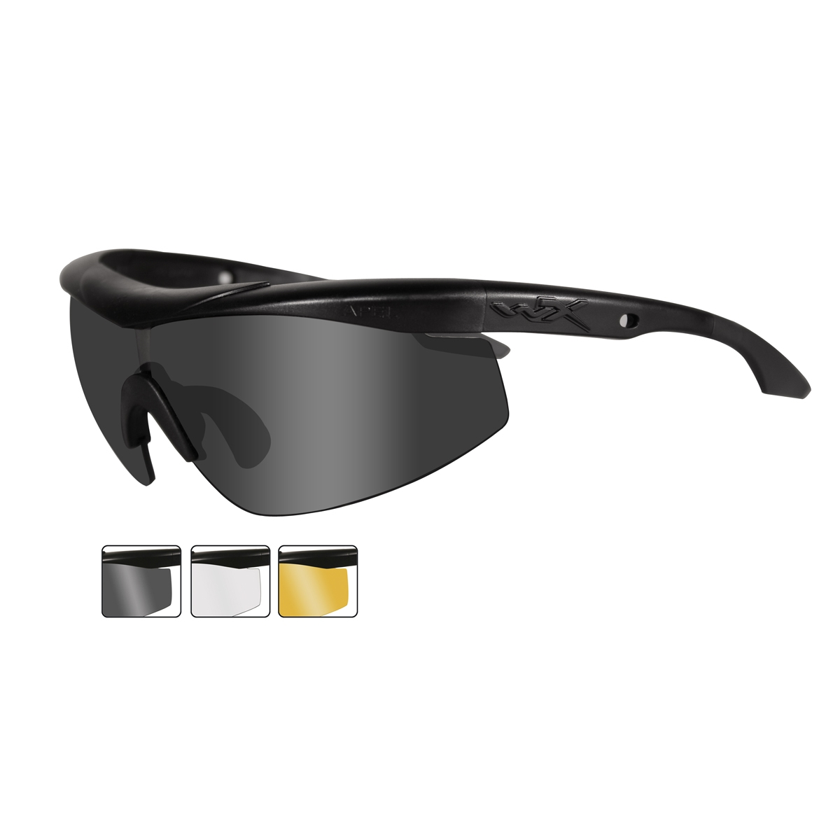 d357336994 Wiley X Talon Safety Glasses - Matte Black Frame - Grey