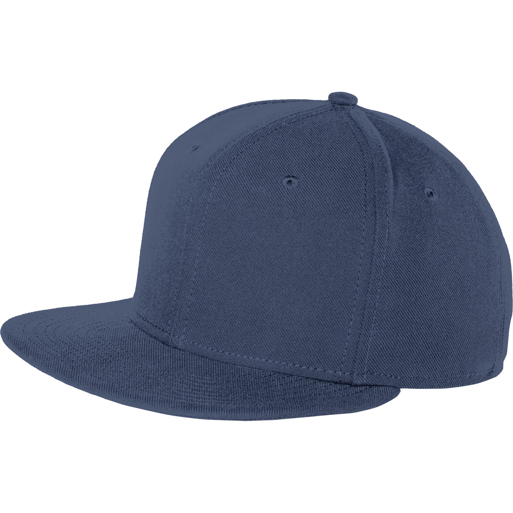 New Era NE402 Original Fit Flat Bill Snapback Cap - League Navy ... 5c4c1c4f5452