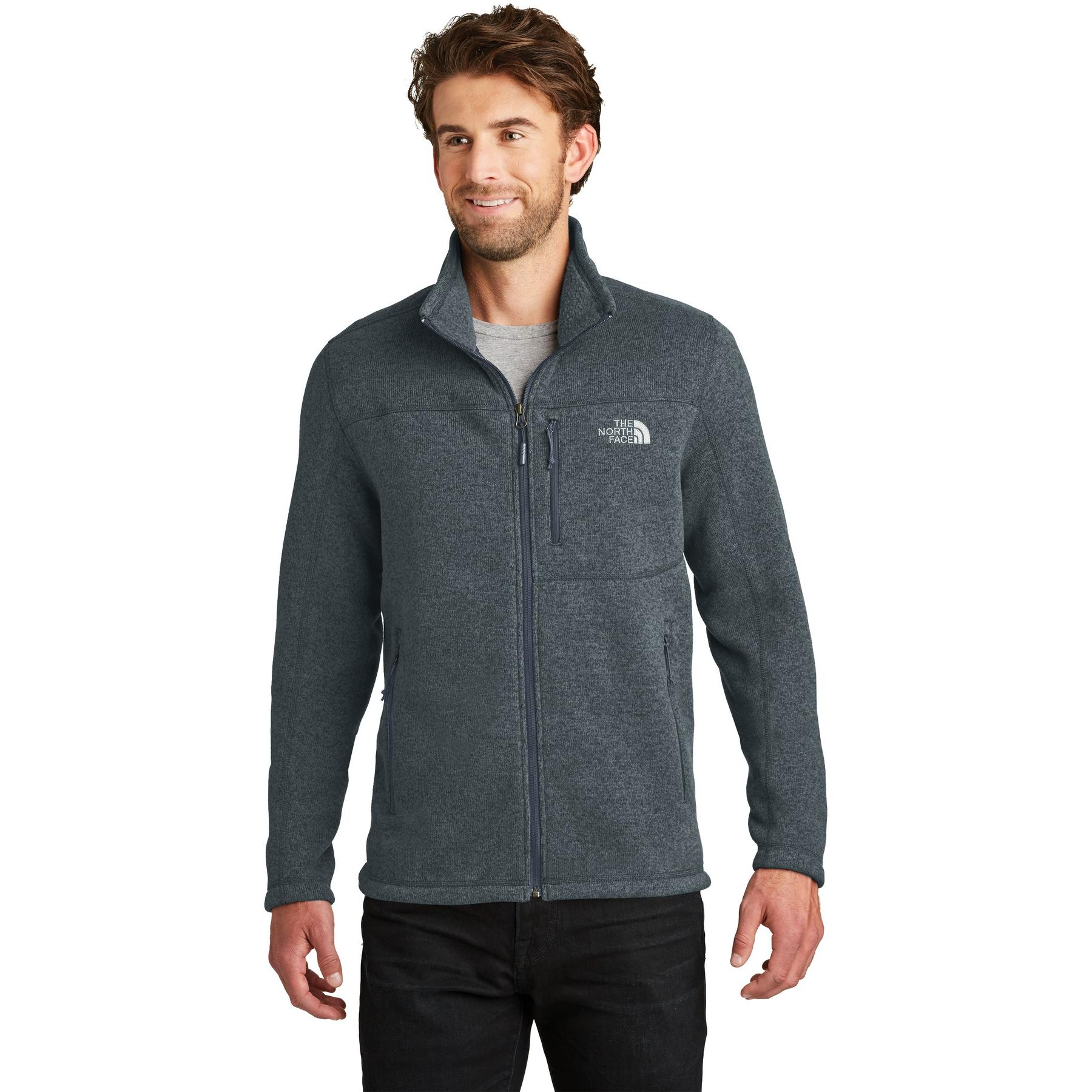 b40c80f5e The North Face NF0A3LH7 Sweater Fleece Jacket - Urban Navy Heather