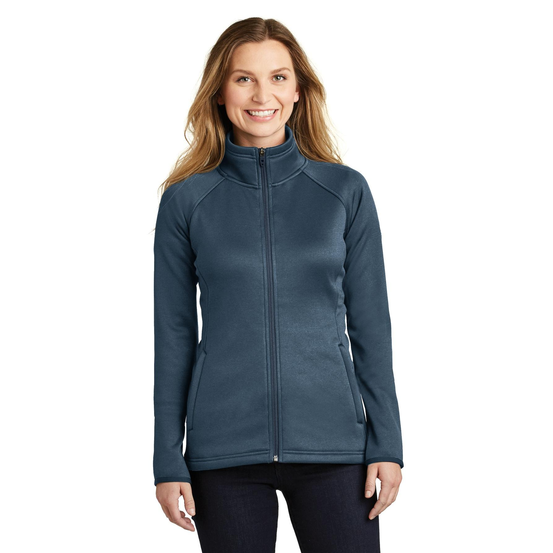 20d062743 The North Face NF0A3LH9 Ladies Canyon Flats Stretch Fleece Jacket - Urban  Navy Heather