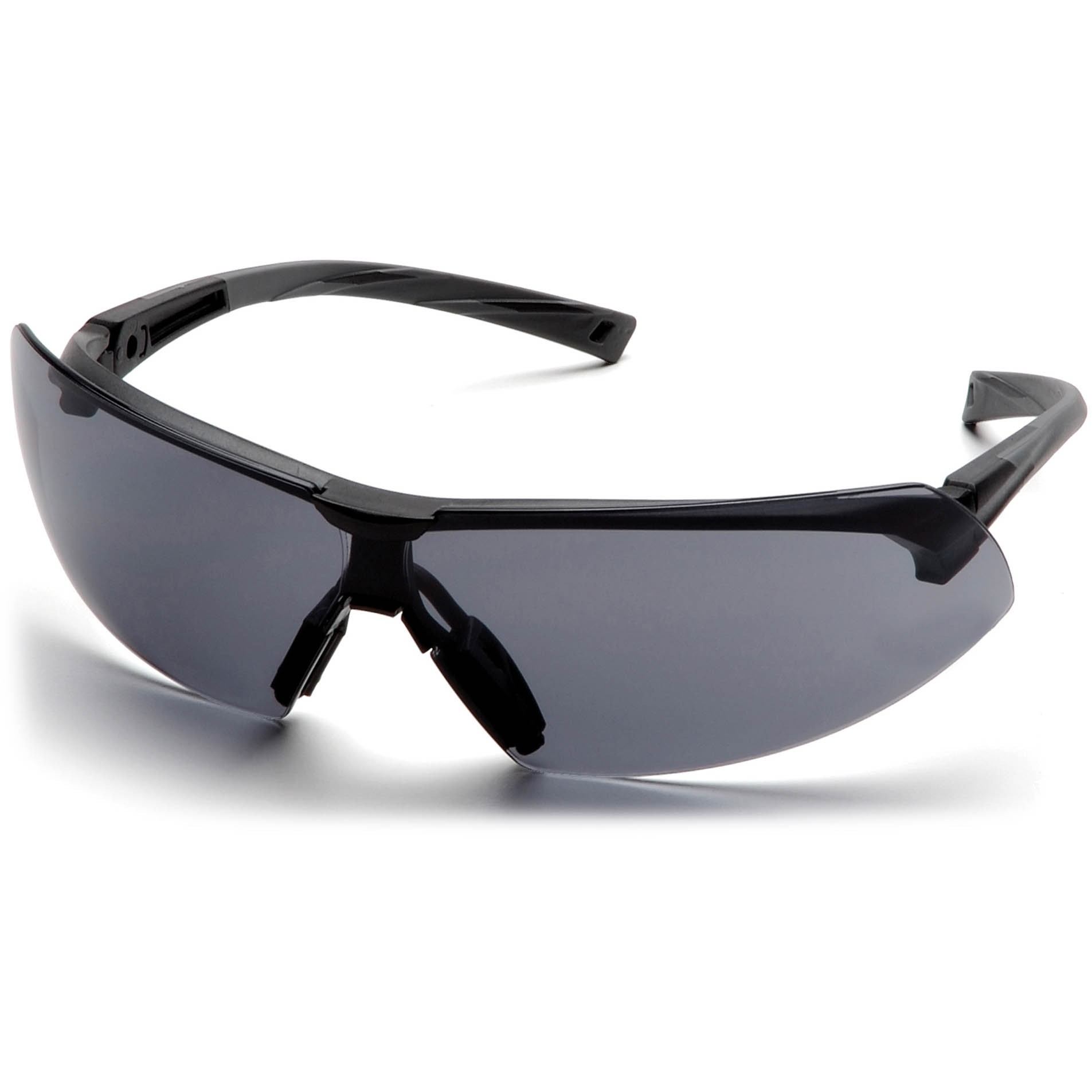 8ea764d29caa3 Pyramex Onix Safety Glasses - Black Frame - Gray Lens