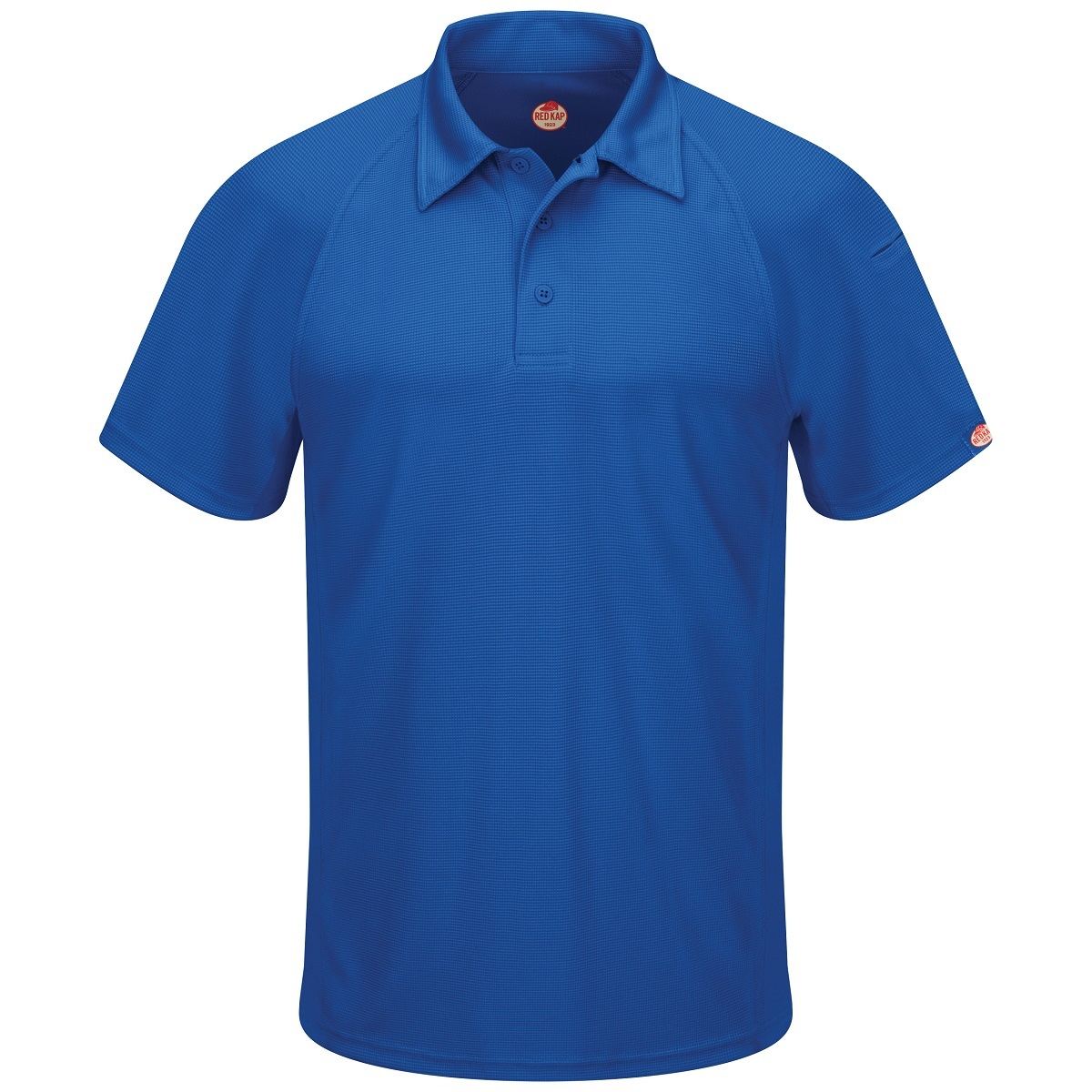 4ed248a9 Red Kap SK92 Men's Performance Knit Flex Series Active Polo - Royal Blue