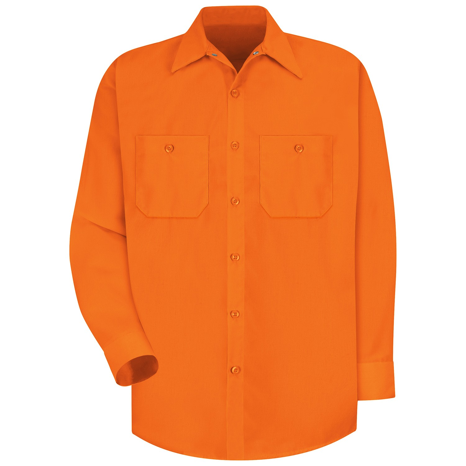 Red Kap SS14 Enhanced Visibility Work Shirt - Long Sleeve ...