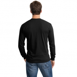 12bd258c Gildan 5400 Heavy Cotton Long Sleeve T-Shirt - Black | FullSource.com