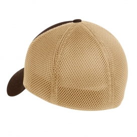 New Era NE1020 Stretch Mesh Cap - Chocolate Khaki  efa8087705e4