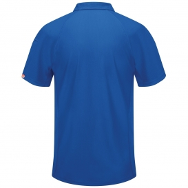 8512267e Red Kap SK92 Men's Performance Knit Flex Series Active Polo - Royal ...