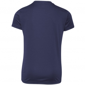 7dcc52438435 All Sport Y1009 Youth Performance Short Sleeve T-Shirt - Sport Navy ...