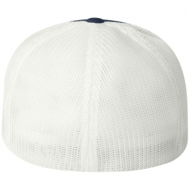 Flexfit 6511 Trucker Cap - Navy White  33f9895c8eef