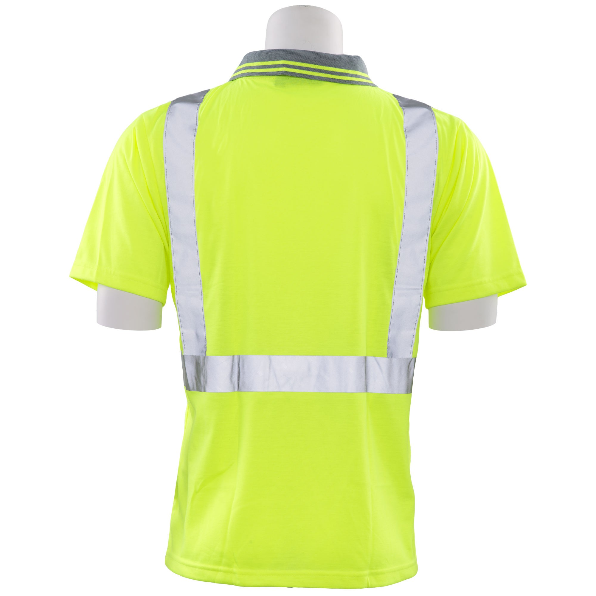 Erb S369 Type R Class 2 Safety Polo Shirt Yellowlime Fullsource