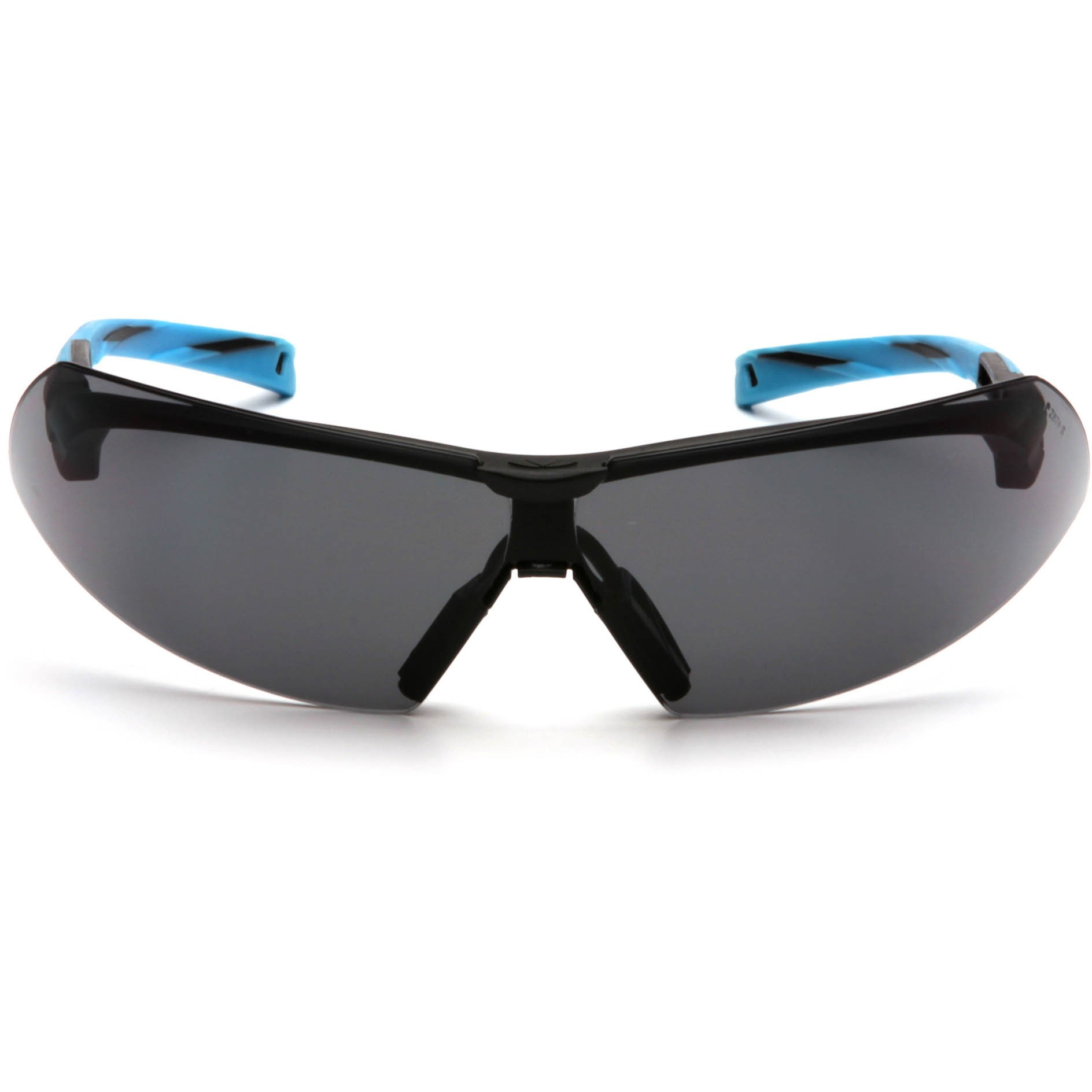 a55582ed494a5 Pyramex Onix Safety Glasses - Black Blue Frame - Gray Lens ...