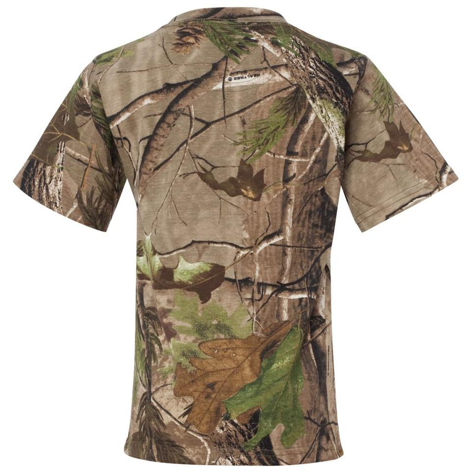 ccd3422c Code V 2280 Youth Realtree Camouflage Short Sleeve T-Shirt ...