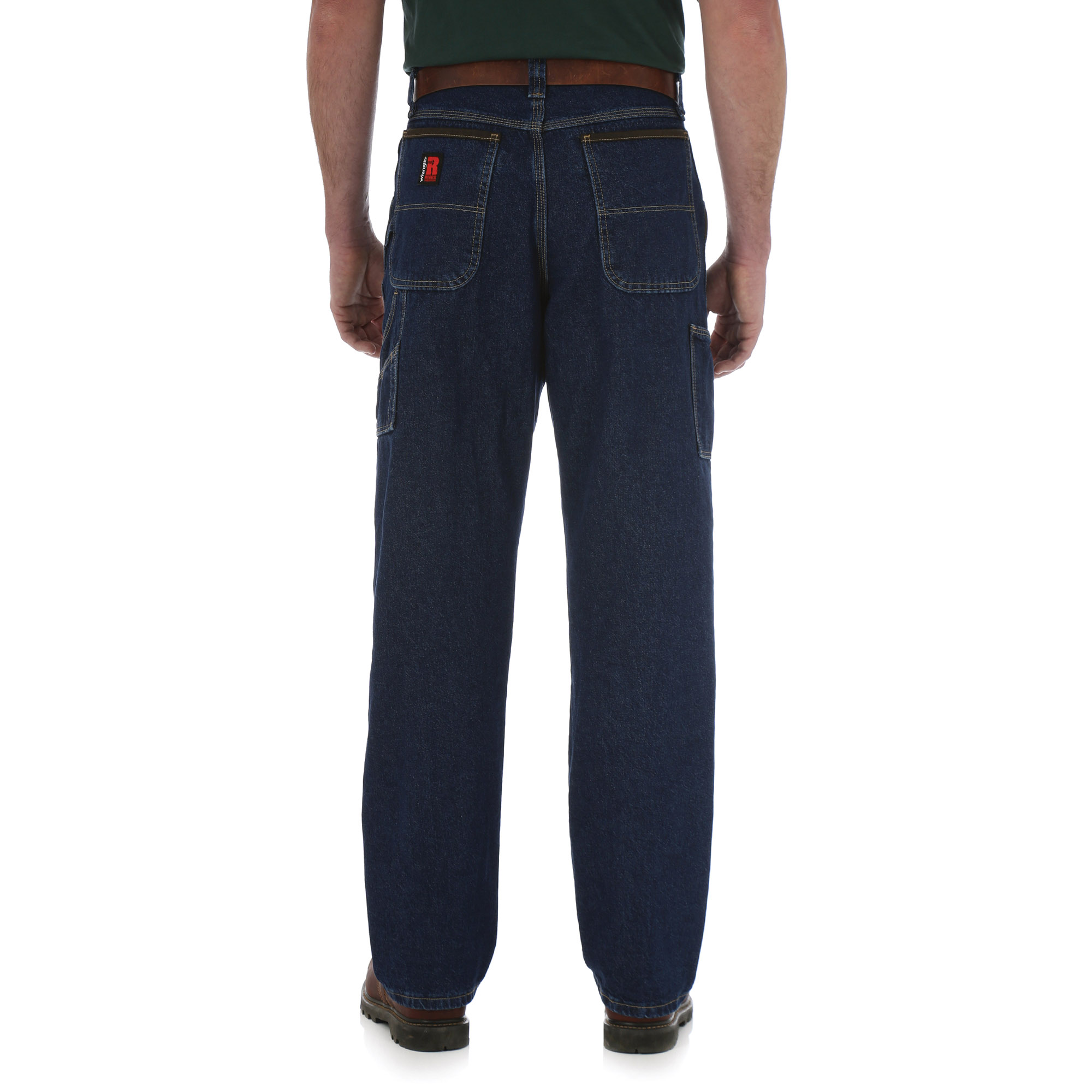 a5bf22fa Wrangler RIGGS 3W040AI Contractor Jeans - Relaxed Fit - Antique Indigo |  FullSource.com