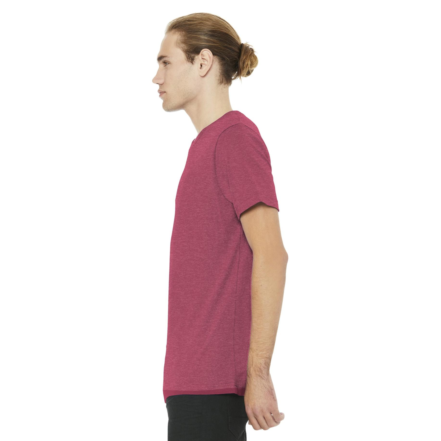 319b3109bfdb7 Bella + Canvas BC3001 Unisex Jersey Short Sleeve Tee - Heather Raspberry |  FullSource.com
