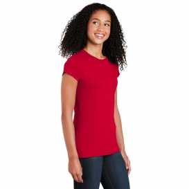 Gildan 64000L Softstyle Junior Fit T-Shirt - Red