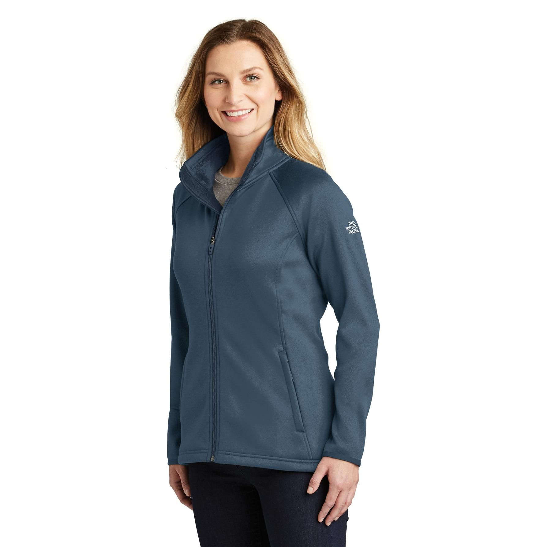 afc42662a54f The North Face NF0A3LH9 Ladies Canyon Flats Stretch Fleece Jacket ...