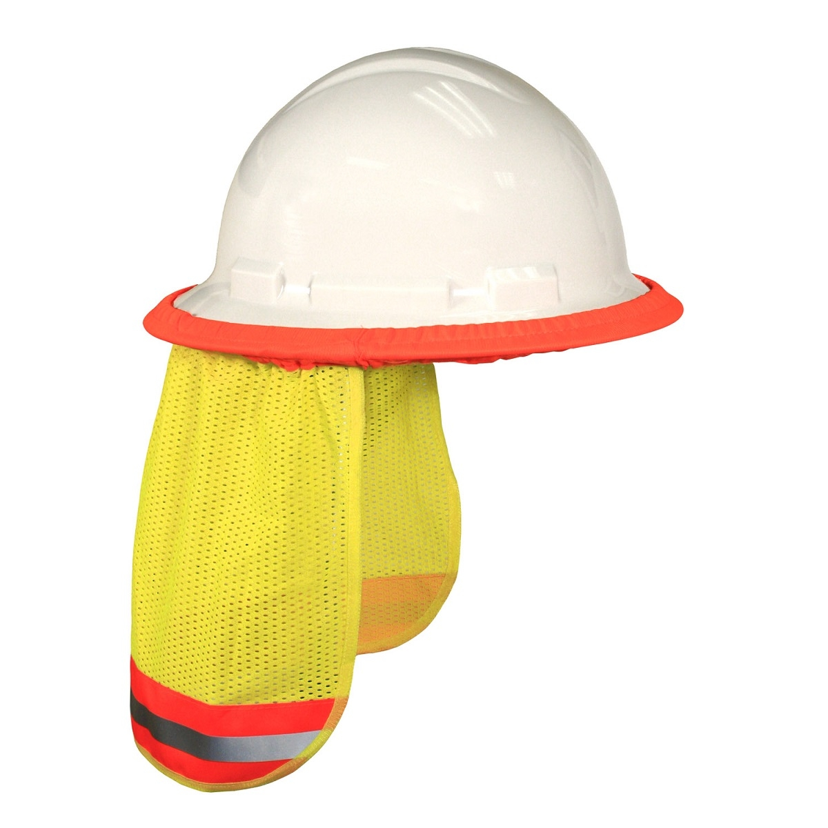 Radians NSG Self Extinguishing Hard Hat Neck Shade - Yellow Lime ... b43de855044