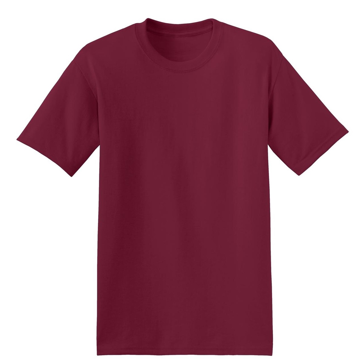 Hanes 5170 comfortblend ecosmart cotton polyester t shirt for Cardinal color t shirts