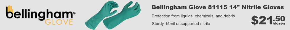 Bellingham Unsupported Nitrile Gloves